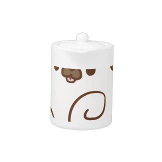 Mochi the Pug Teapot