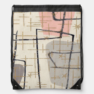 Mochila abstracta moderna del lazo de los mediados