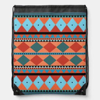 Mochila al sudoeste tribal azteca del lazo