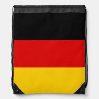 Mochila alemana de la bandera