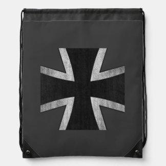 Mochila alemana de las insignias de la cruz del hi