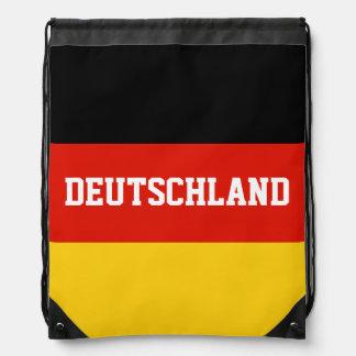 Mochila alemana del bolso de lazo de la bandera el
