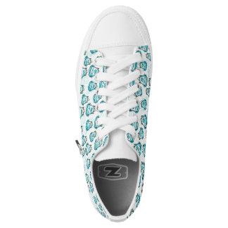 mochila azul zapatillas
