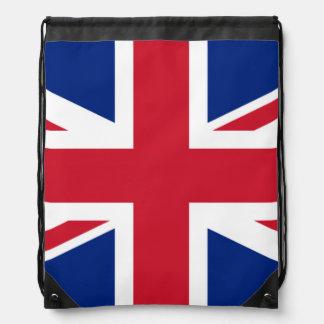 Mochila británica de la bandera