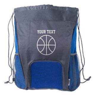 Mochila conocida personalizada del lazo del mochila de cordón