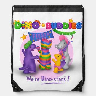 Mochila de Dino-Buddies™ - escena de la fiesta