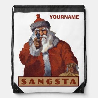 Mochila de encargo de Gangsta Santa