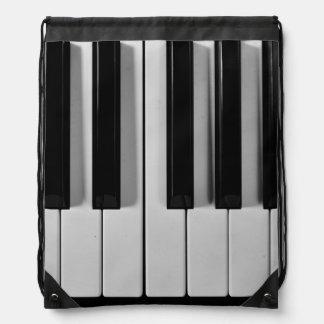 Mochila de encargo del lazo del teclado de piano