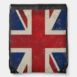 Mochila de la bandera de Reino Unido Union Jack de