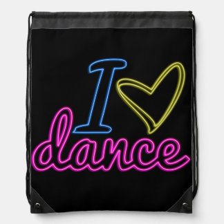 Mochila de la danza del amor del neón I