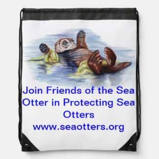 Mochila de la nutria de mar