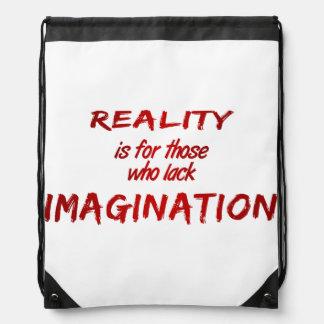 Mochila de la realidad/de la imaginación