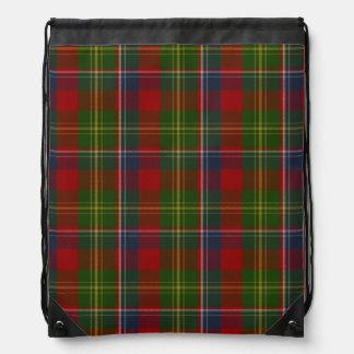 Mochila de la tela escocesa de tartán de Forrester