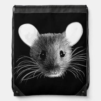 Mochila de medianoche del lazo del ratón