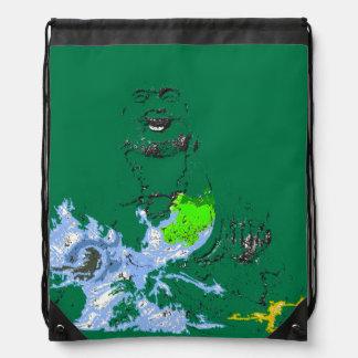 Mochila de risa del lazo del dragón de agua de Bud