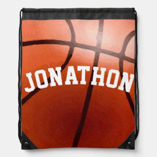 Mochila del baloncesto del vintage
