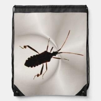 Mochila del ~ de la silueta del insecto
