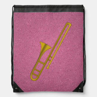 Mochila del dibujo animado del Trombone