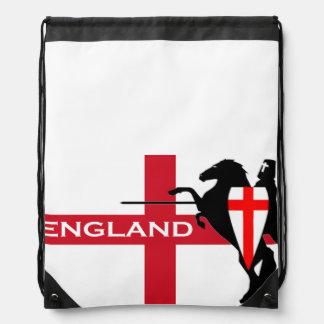 Mochila del lazo de la bandera de Inglaterra del