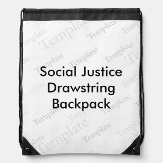 Mochila del lazo de la justicia social