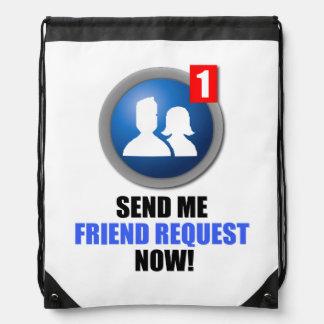 Mochila del lazo de la petición del amigo