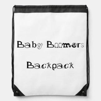 Mochila del lazo de los nacidos en el baby boomes
