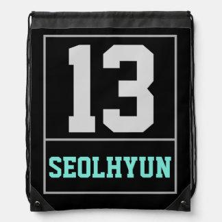 Mochila del lazo de Seolhyun 13