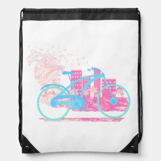 Mochila del lazo del diseño de la bicicleta