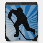 mochila del lazo del hockey