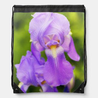 Mochila del lazo del iris de la lila