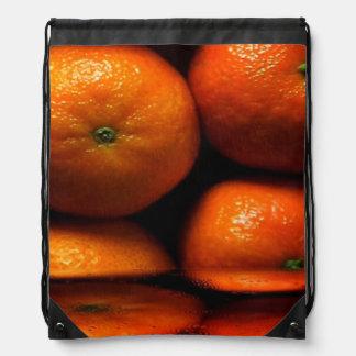 Mochila del lazo del zumo de naranja