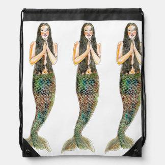Mochila del lazo - hermanas de Sirena