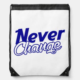 Mochila del lazo: Nunca cambie