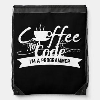 mochila del programador: café y código