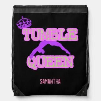 Mochila del saco de la cincha de la reina de la