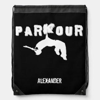 Mochila del saco de la cincha de Parkour