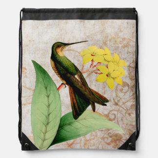 Mochila gigante del colibrí