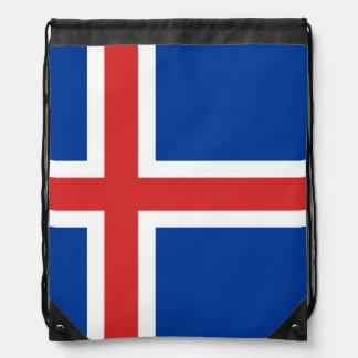 Mochila islandesa de la bandera