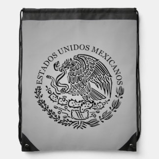 Mochila mexicana del escudo de armas