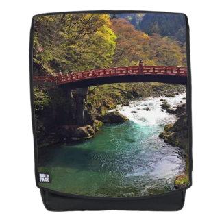 Mochila negrita de Japón del parque nacional de
