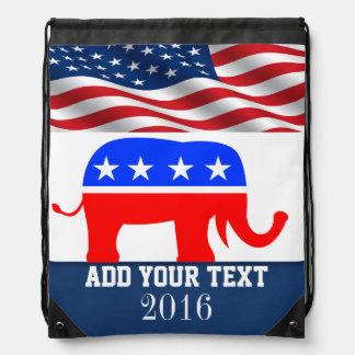 Mochila patriótica/de las elecciones de la bandera