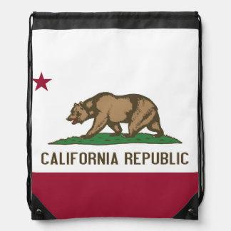 Mochila patriótica del lazo con la bandera de