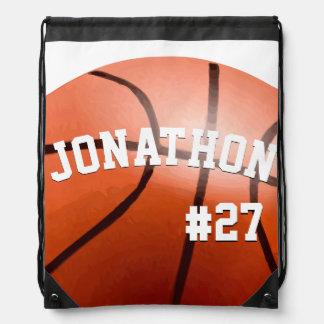 Mochila personalizada del baloncesto