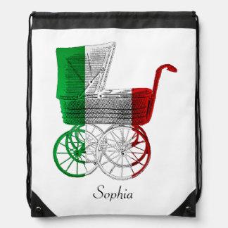 Mochila personalizada italiana del carro de bebé d