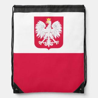 Mochila polaca de la bandera