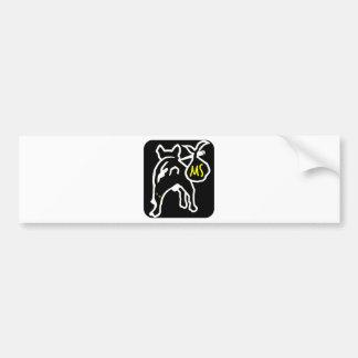 Mochilas Salvajes Bumper Sticker