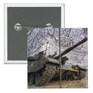 Mock aggressors from Republic of Korea 2 Pinback Button