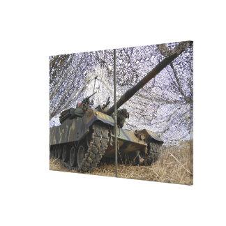 Mock aggressors from Republic of Korea Canvas Print