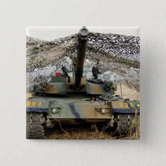 Mock aggressors from Republic of Korea Pinback Button