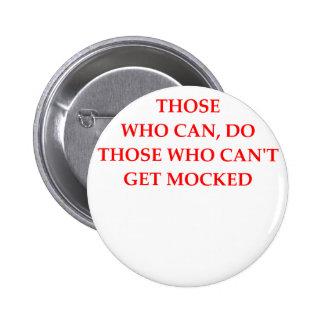 mock 2 inch round button